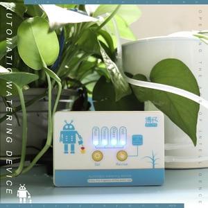 Image 4 - אינטליגנטי גן השקיה אוטומטית מכשיר בשרניים צמח בטפטוף השקיה כלי מים משאבת טיימר מערכת בקר בטפטוף חץ