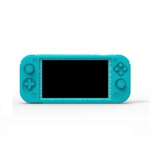 Image 4 - Przełącznik do Nintendo Lite Full Body ergonomiczne antypoślizgowe miękkie etui silikonowe osłony na konsolę Nintendo Switch Lite Mini
