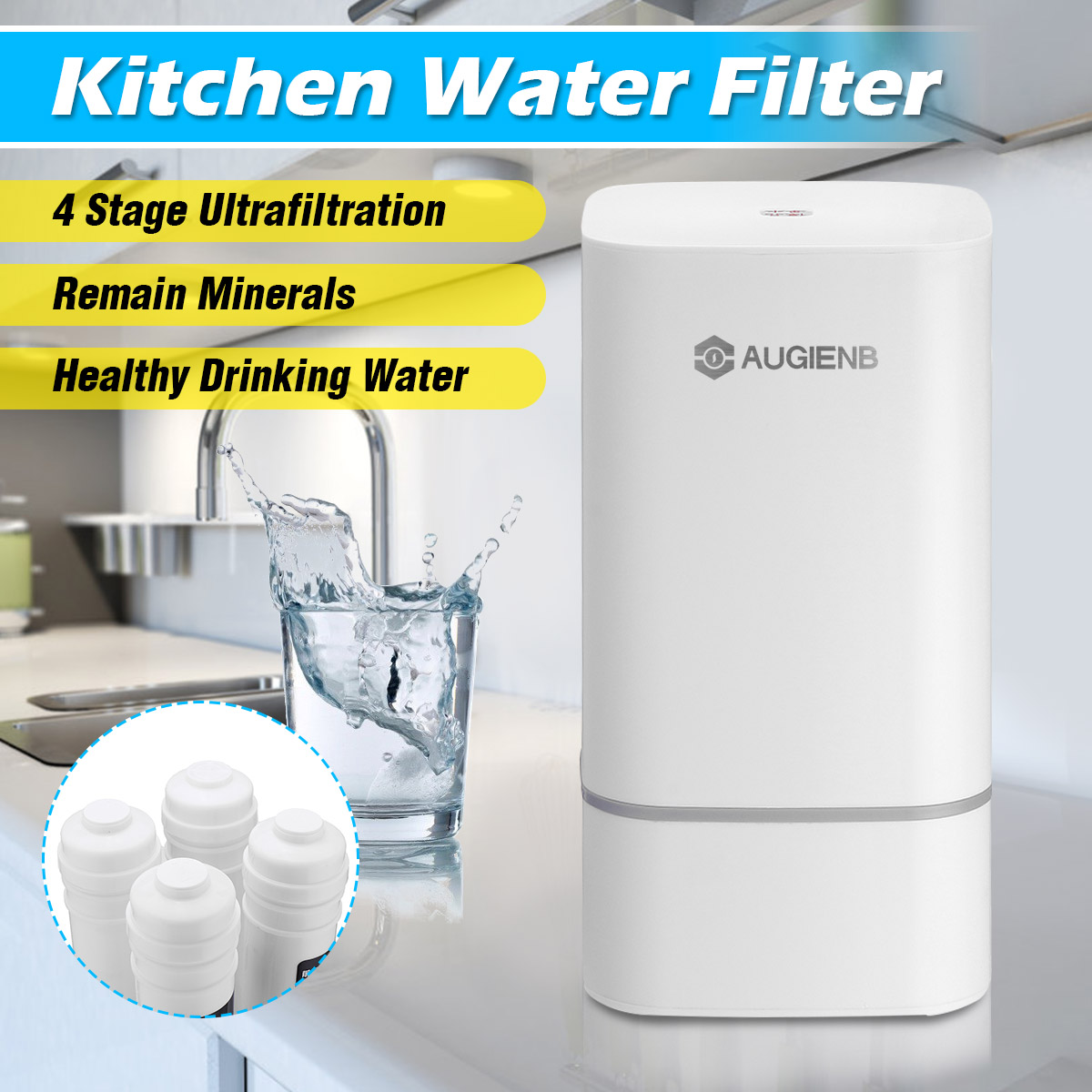 4 этап столешница RO очиститель воды мембранный фильтр воды для обратного осмоса системы технологии кухня тип домашнего использования