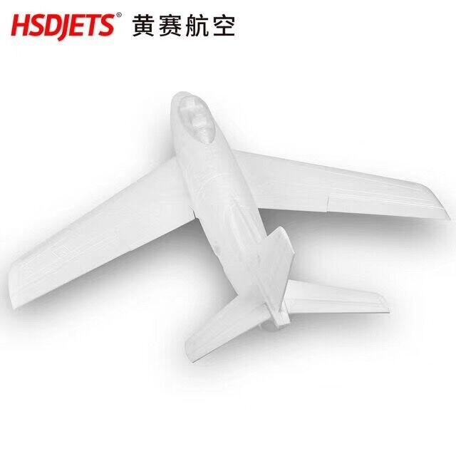 HSD هواية EPO F86 F 86 90 مللي متر RC EDF جت نموذج طائرة الأبيض اللون DIY-في طائرات تعمل بالتحكم عن بعد من الألعاب والهوايات على  مجموعة 1