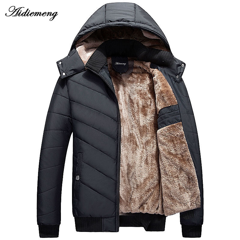 Aideemeng Men's Winter Coat  Parka Men's Sports Coat Coat Coat Coat Coat And Men's Sports Coat