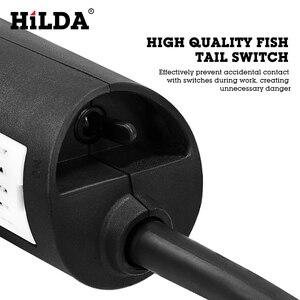 Image 3 - HILDA amoladora angular eléctrica, 1100W, herramienta eléctrica de molienda, corte de Metal