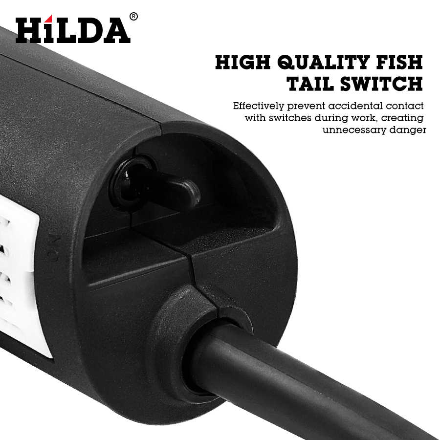 Hilda 1100W Haakse Slijper Slijpmachine Elektrische Slijpmachine Power Tool Slijpen Snijden Slijpen Metalen
