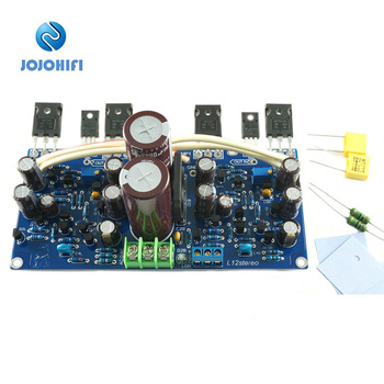 hpo audio amplifier power supply board 30a nichicon type ii 10000uf 50v x4 diode rectifier filter L12 100W 8R IRFP140 IRFP9140 6800UF 50V Dual Channel FET Output with Rectification Filter VER2 Power Amplifier Finished Board