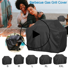 Bbq-Grill-Cover Heavy-Duty Patio Waterproof Outdoor Oxford Smoker Barbecue-Hood