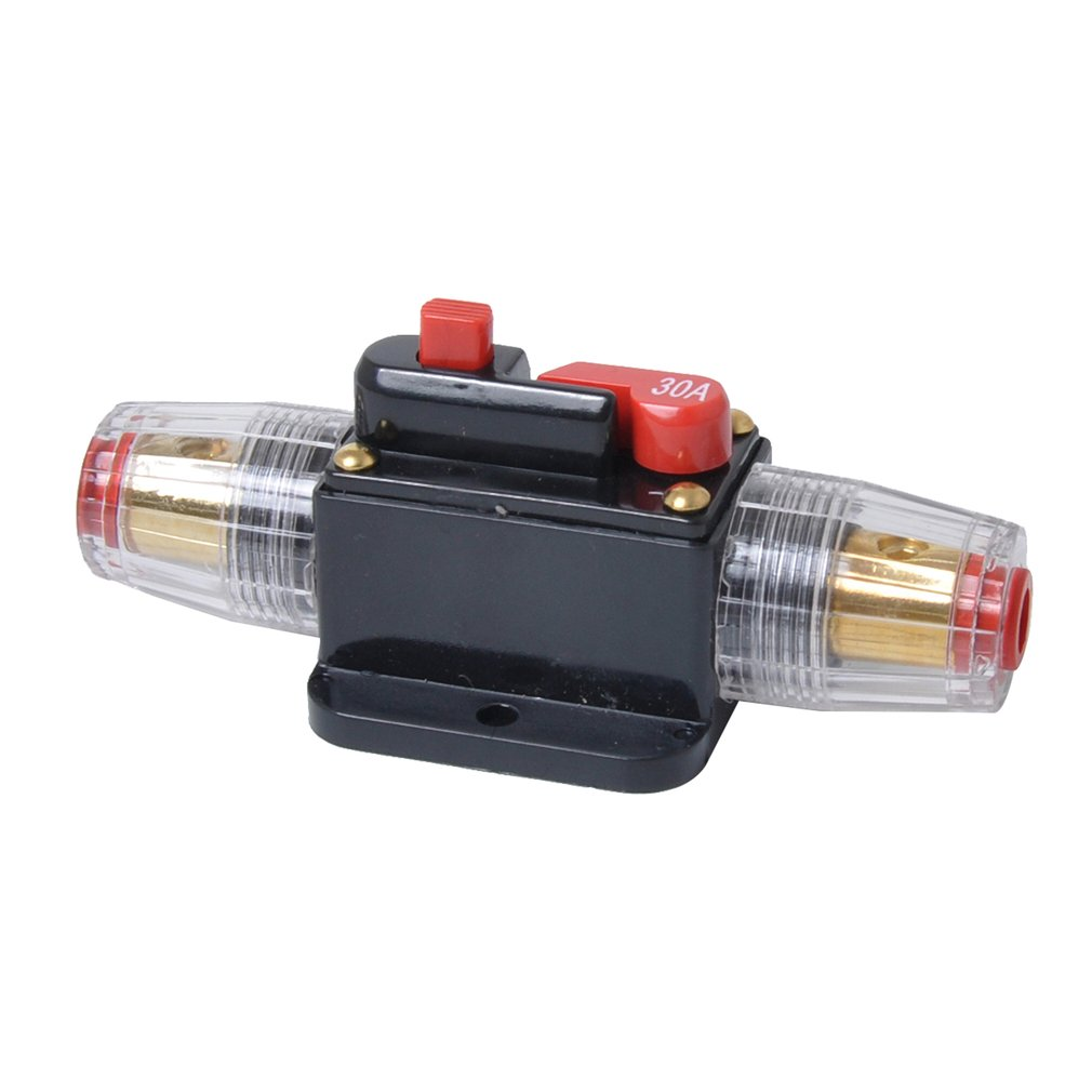 30A 40A <font><b>60A</b></font> 80A 100A <font><b>Car</b></font> Truck Audio Amplifier Circuit Breaker <font><b>Fuse</b></font> Holder AGU Style Stereo Amplifier Refit <font><b>Fuse</b></font> Adapter image