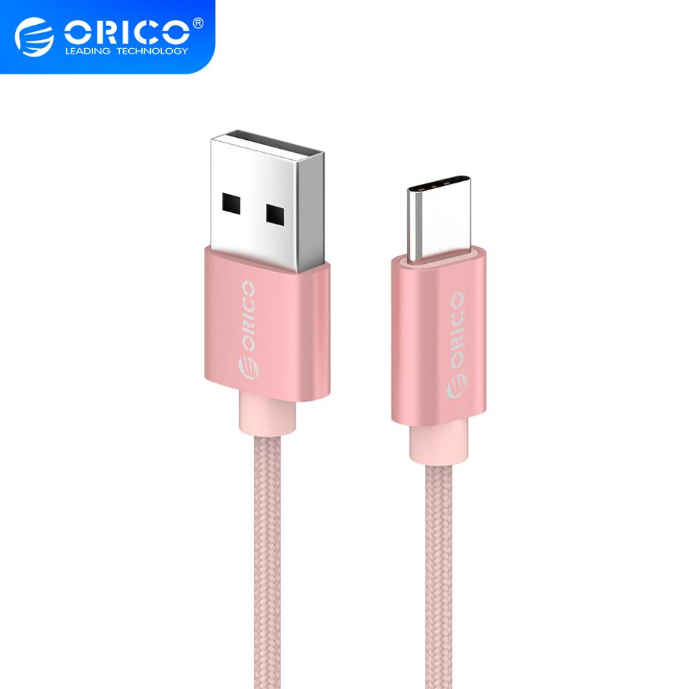 ORICO USB C Charging Cable USB Type C Cable For Huawei Micro USB For Xiaomi Mobile Phone Charger Data Transmission