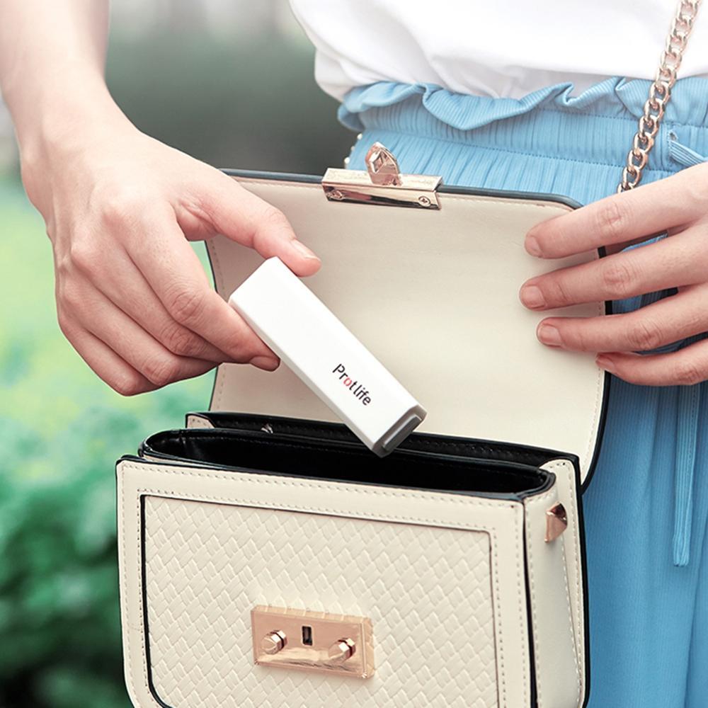 USB Pocket Small Fan Portable Handheld Fan Lipstick Retractable Mini Portable