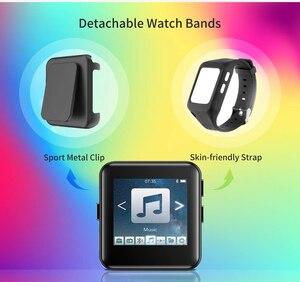 Image 3 - Bluetooth MP3 Horloge Met Touch Screen 8/16 Gb Clip MP3 Speler Voor Hardlopen Fietsen Wandelen Ondersteuning Opname, fm Radio