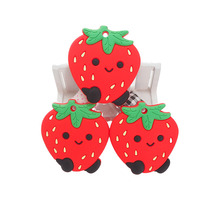 Toy-Accessories Smoothing Silicone 10pcs Chenkai Pacifier Dummy DIY Strawberry Sensory