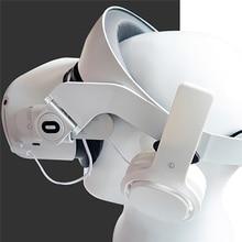 Comfortable VR Headset Headband Head Strap Belt & Headphones for Oculus Quest 2 VR Headset Accessories