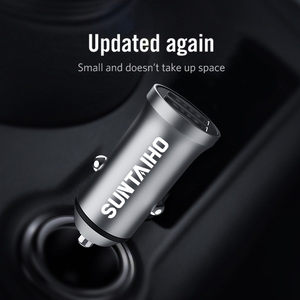 Image 4 - Suntaiho 5V 4.8A Mini USB Car Charger For iPhone iPad Samsung Mobile Phone GPS Fast Charger Car USB Charger Adapter Car Charger
