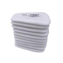 10 20 יח\אריזה 5N11 מראש מסננים להחלפה כותנה מסנן אבק מסנן חלקיקי עבור 6000/7000 אבק מסכת גז כימי הנשמה