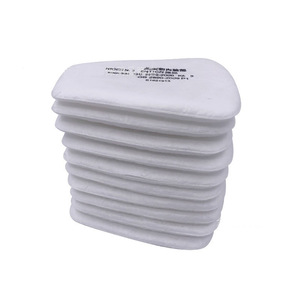 Image 1 - 10 20pcs/Pack 5N11 Pre Filters Replaceable Cotton Filter Dust Particulate Filter For 6000/7000 Dust Gas Mask Chemical Respirator