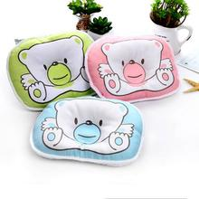 1pc Newborn Infant Anti Roll Pillow Flat Head Neck Prevent Infant Support Baby Crib Flat Head Pillow For Newborn Correct Sleep cheap Polyester Cotton CN(Origin) 0-6m Unisex Shaping Pillow Memory quality Animal Convex Baby Pillow 0-1 pounds Children s Day Gifts