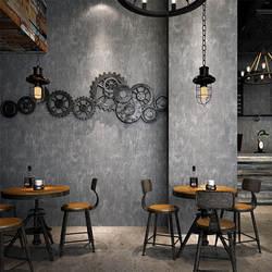 Винтажный промышленный стиль обои ностальгия серый цемент пестрые граффити интернет кафе Лофт бар украшения для гардероба стены