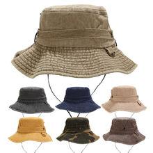 Большая мужская шляпа brime Панама плоская Повседневная Уличная