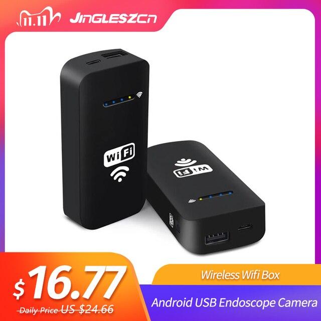 ワイヤレス Wifi ボックス Android の USB 内視鏡カメラの Usb 蛇検査カメラサポート IOS WiFi 内視鏡