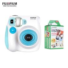 Fujifilm Instax กล้อง Mini7s กล้องฟิล์มกล้อง + 20 50 แผ่น Fujifilm Instax มินิฟิล์มมินิ 8 มินิ 9 mini7s ฟิล์มของขวัญ
