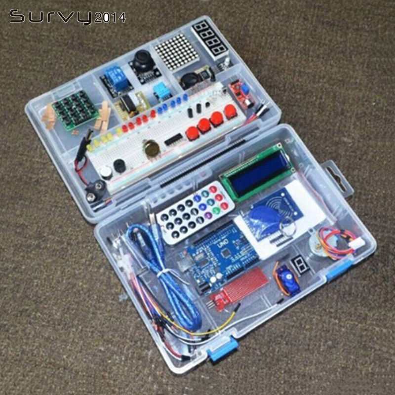 1 Set Lernen Starter Kit RFID für Arduino UNO R3 Verbesserte Version Lernen Suite