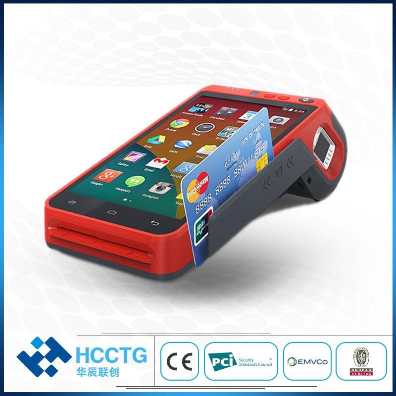 terminal da posicao do androide do varredor de 4g wifi bluetooth msr ic nfc 2d com