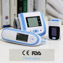 Pulse Oximeter  Blood Pressure Meter Ear Thermometer home medical equipment health care suit