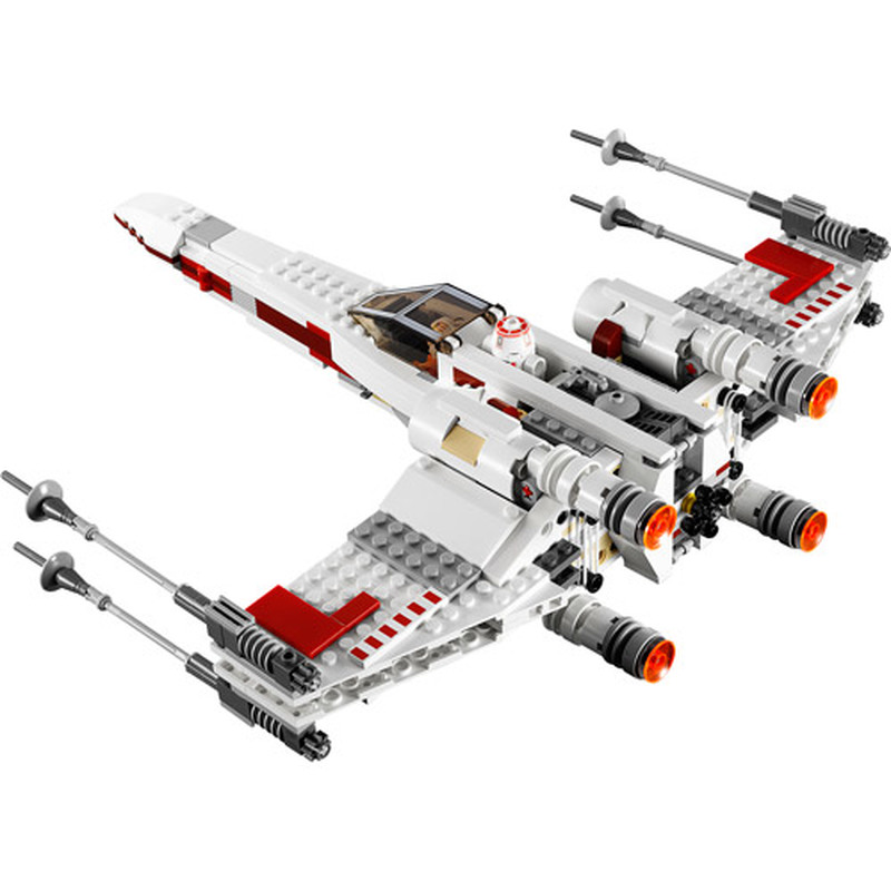05145 05004 Building Blocks Bricks Legoinglys StarWars Toys For Children First Order Poe's X Wing Fighter Compatible With 75102
