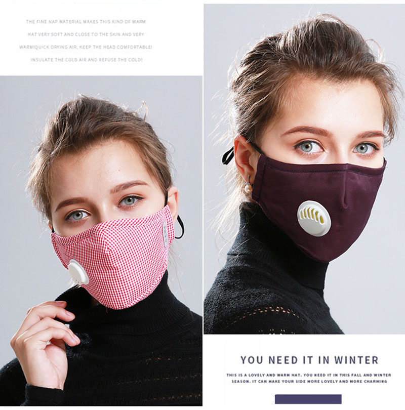 Hf9921531c95d439191d235a01aeed141t Korean Fabric mouth face mask PM2.5 Anti Haze/Anti dust mouth mask Respirator mascaras With Carbon Filter Respirator Black Mask