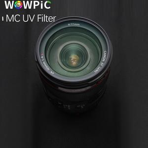 Image 4 - 95mm MC UV Filter WOWPIC Super Slim Green Muticoating 16 layers Lens Protector 95 mm Camera Filter for Canon Nikon DSLR Camera