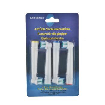 4 szt Wymienne końcówki do szczoteczki do higiena jamy ustnej B Cross Floss Action Precision Pulsonic elektryczne szczoteczki do zębów z miękkim włosiem tanie i dobre opinie GCDHome CN (pochodzenie) Z tworzywa sztucznego Toothbrush lot (4 pieces lot) 0 033kg (0 07lb ) 1cm x 1cm x 1cm (0 39in x 0 39in x 0 39in)
