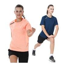 T-shirt de Sport à manches courtes pour femmes, respirant, séchage rapide, Yoga, Jogging, ample, Fitness