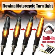 Clignotants LED modifiés pour motos, lumière de Direction pliable, 12 SMD, 2 pièces