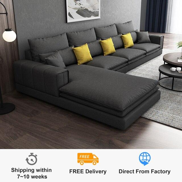 Modern Living Room Sofa L Shaped 1