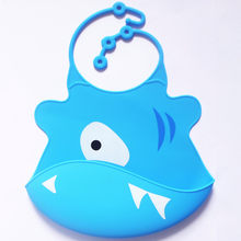 Cute Kid Infant Bibs Baby Soft Silicone Bib Waterproof Saliva Dripping Bibs cute adjustable baby bibs baberos beb impermeables(China)