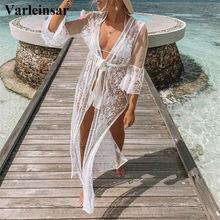 Para playa larga playa vestido de las mujeres traje de baño Bikini encubrir Saida de Bata Praia de Plage Kaftan de la playa cubierta de V2624
