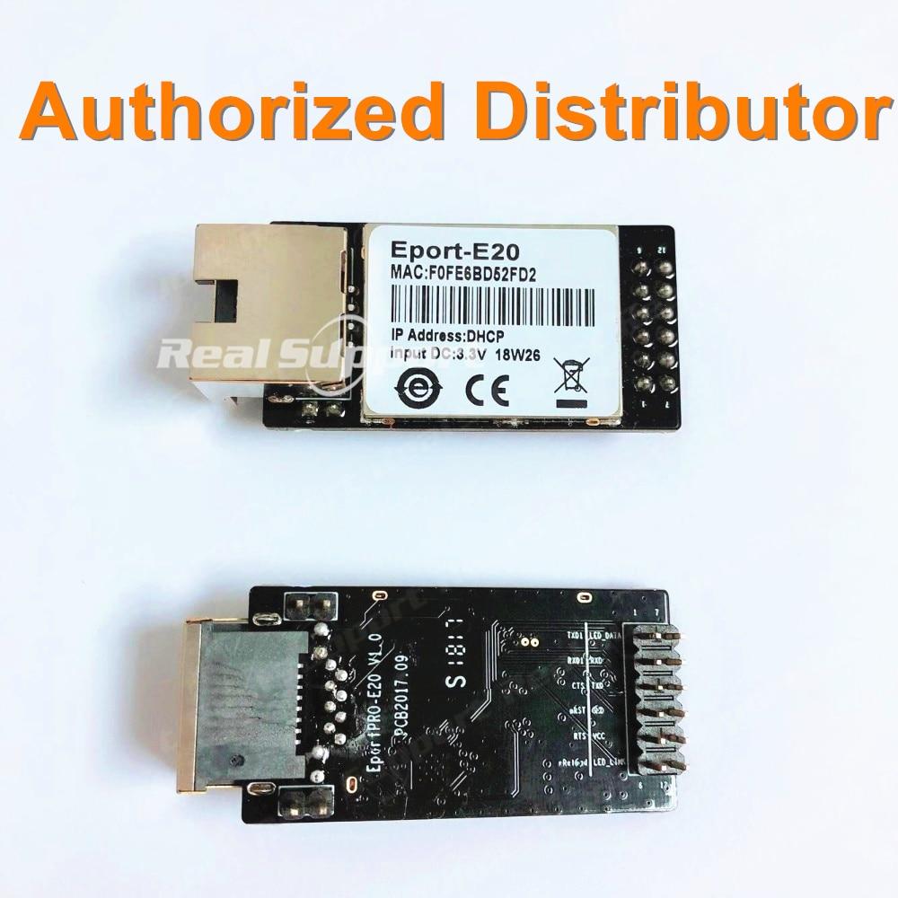 HF Eport-E20 FreeRTOS Network Server Port TTL Serial To Ethernet Embedded Module DHCP 3.3V TCP IP Telnet CE Certified