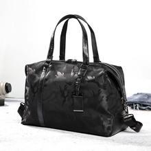 Large Capacity Men Travel Bag Women Waterproof Nylon Hand Luggage Bag Multifunction Camouflage Travel Duffle Bags Packing Cubes недорого
