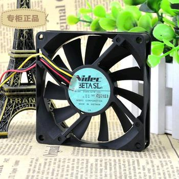 for SUNON//Jianzhun KDE1208PKV1 12V 1.6W 8CM 80203 Wire Heat Dissipation Fan