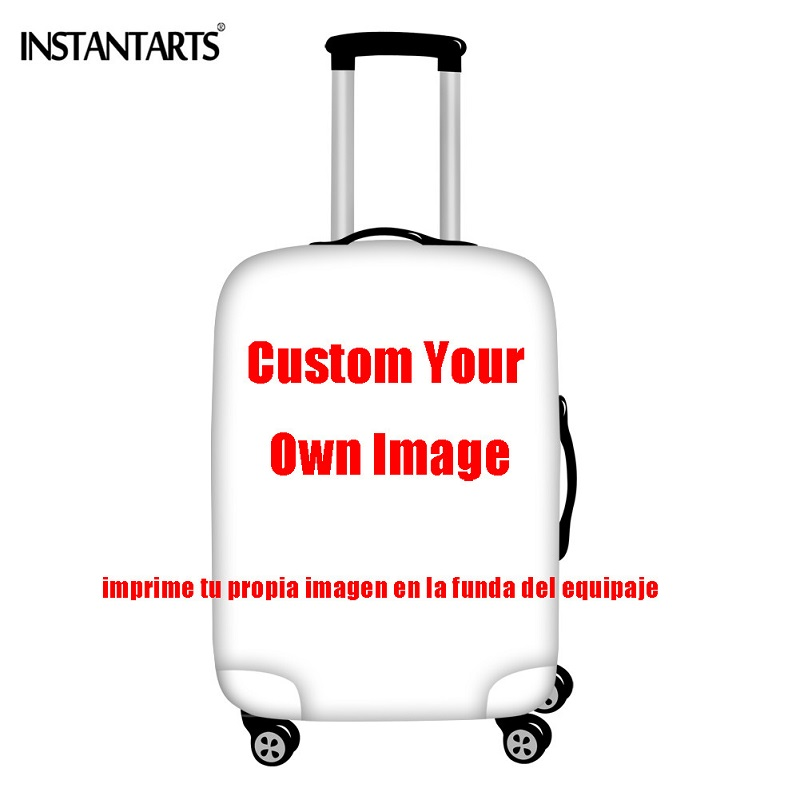 Instantarts bonito border collie imprime bagagem capas