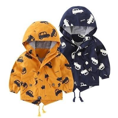 Benemaker Children Winter Outdoor Fleece Jackets For Boys Clothing Hooded Warm Outerwear Windbreaker Baby Kids Thin Coats YJ023 3