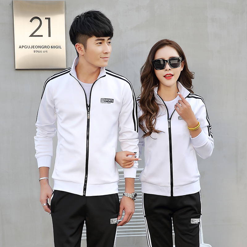 Couple Clothes Spring And Autumn New Style Korean-style Sports Clothing Men Sports Casual Long Sleeve Hoodie WOMEN'S Suit Two-Pi