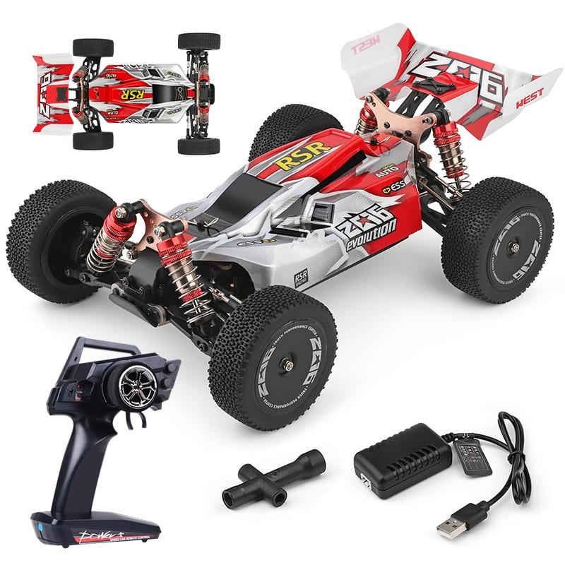 2.4G şehir elektrikli RC Off-Road 4WD teknik araba yarışı 60 km/h yüksek hızlı spor açık formülü araç oyuncaklar çocuklar için erkek