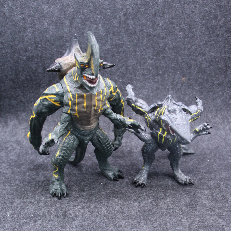 KAIJU Knifhead & Axehead Monsters Action Figure 1/8 Scale Painted PVC Figure Toy Brinquedos
