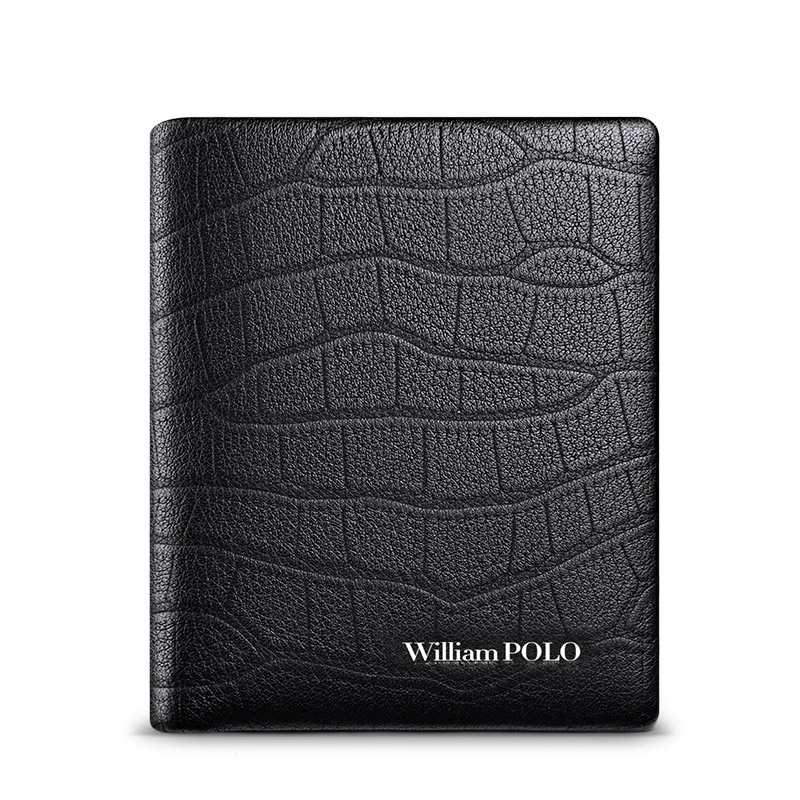 Купить с кэшбэком Genuine leather Men's Wallets Thin Male Wallet Card Holder Cowskin Soft Mini Purses New Design Vintage Men Short Slim Wallet