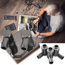 G1/4-90-8 90 Grad H59 Messing Rotierenden Ellenbogen 8-10mm Durchmesser Umwelt Kühler rohr für Wasser Kühlung G1/4 Joint