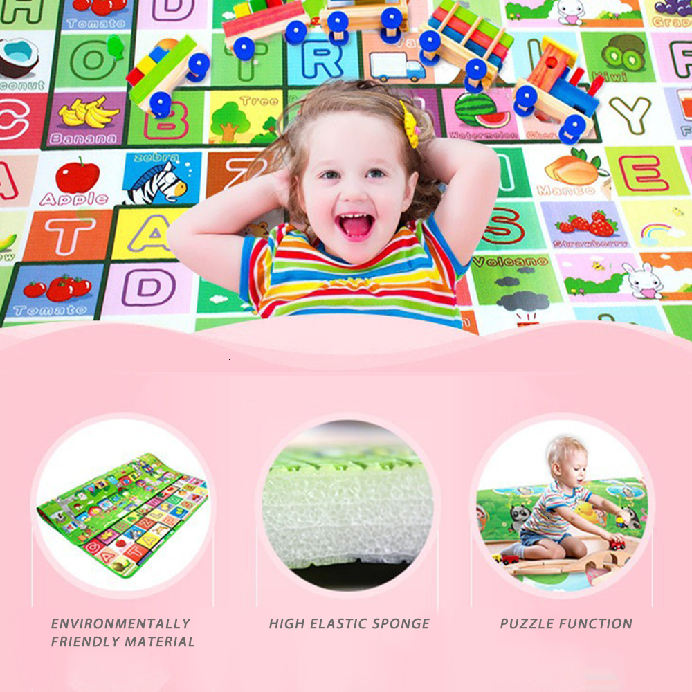 0.5cm Thick Baby Crawling Play Mat Educational Alphabet Game Rug For Children Puzzle Activity Gym Carpet Eva Foam Kids Toys Pad | Happy Baby Mama