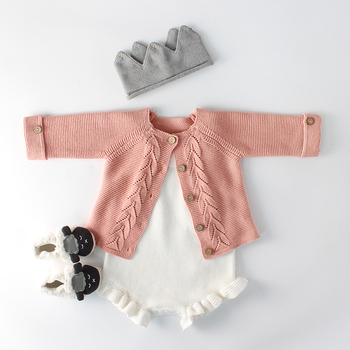 Baby Boys Clothes Spring Autumn Knitted Newborn Infant Cotton Romper For Girls Sweater Girl
