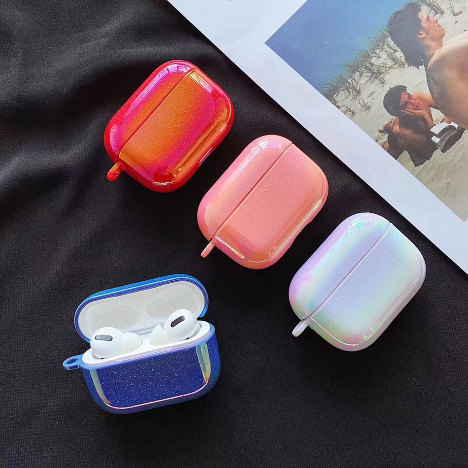 Retro Colors Earphone Case For Airpods Pro Case Cute Marble Luxury Hard Cover For Apple Air Pods Pro 3 Case Earpods Charging Box
