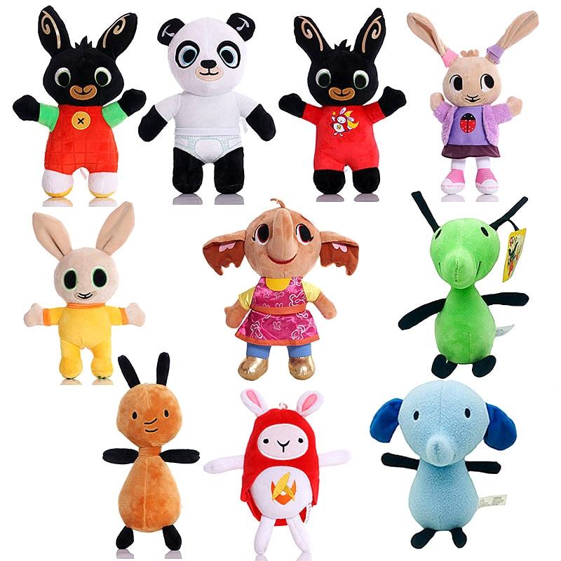 16-28cm Rabbit Plush Toys Children Birthday Christmas Gifts