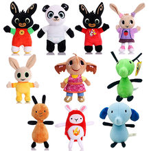 16-28cm Rabbit Plush Toys Children Birthday Christmas Gifts